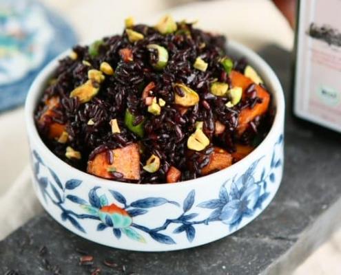 Ricetta light riso venere per salute della mente