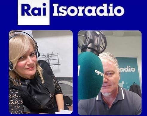 Intervista alla trasmissione radiofonica di Rai Isoradio